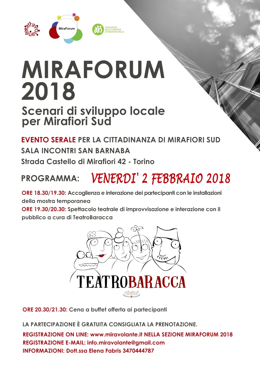 MiraForum festeggia con gliabitanti